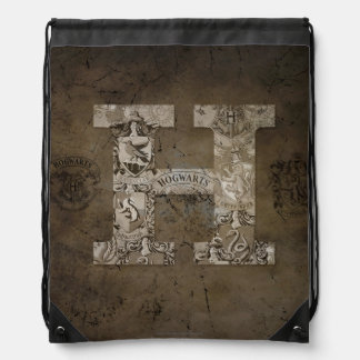 Harry Potter | Hogwarts Monogram Drawstring Bag