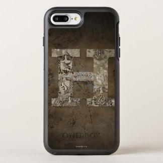 Harry Potter | Hogwarts Monogram OtterBox Symmetry iPhone 8 Plus/7 Plus Case
