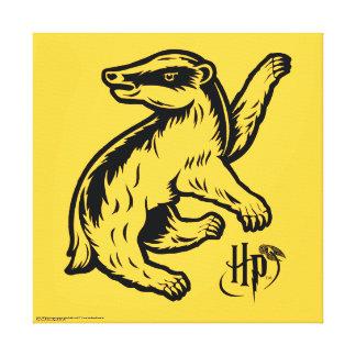 Harry Potter | Hufflepuff Badger Icon Canvas Print