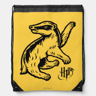 Harry Potter | Hufflepuff Badger Icon Drawstring Bag