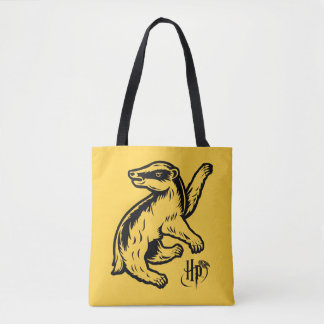Harry Potter | Hufflepuff Badger Icon Tote Bag