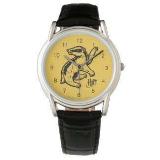 Harry Potter | Hufflepuff Badger Icon Watch