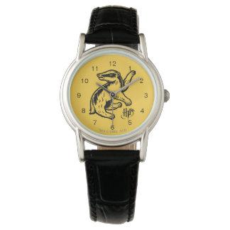 Harry Potter | Hufflepuff Badger Icon Wrist Watch