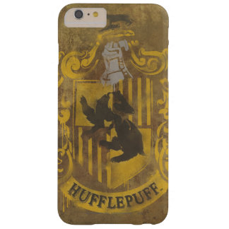 Harry Potter | Hufflepuff Crest Spray Paint Barely There iPhone 6 Plus Case