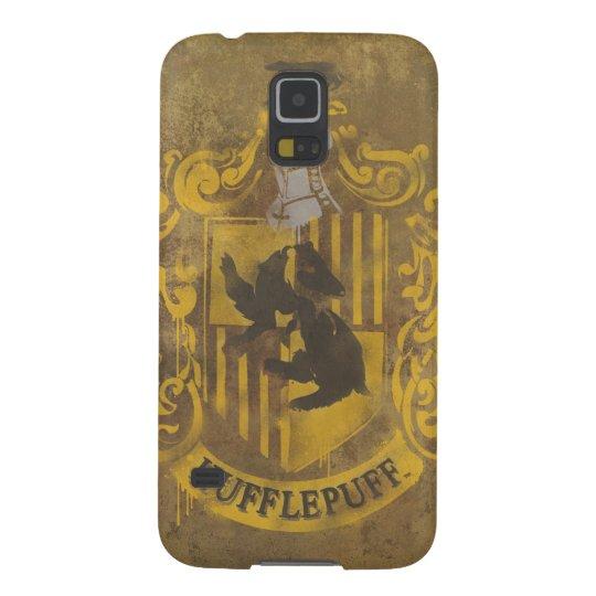 Harry Potter | Hufflepuff Crest Spray Paint Galaxy