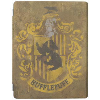 Harry Potter | Hufflepuff Crest Spray Paint iPad Cover