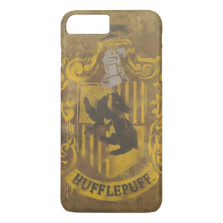 Harry Potter | Hufflepuff Crest Spray Paint iPhone 8 Plus/7 Plus Case