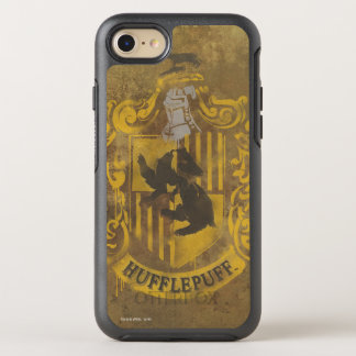 Harry Potter | Hufflepuff Crest Spray Paint OtterBox Symmetry iPhone 8/7 Case