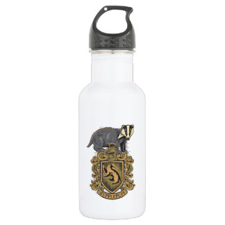 Harry Potter | Hufflepuff Crest with Badger 532 Ml Water Bottle