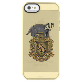 Harry Potter   Hufflepuff Crest with Badger Clear iPhone SE/5/5s Case