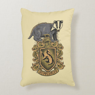 Harry Potter   Hufflepuff Crest with Badger Decorative Cushion