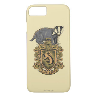 Harry Potter | Hufflepuff Crest with Badger iPhone 8/7 Case