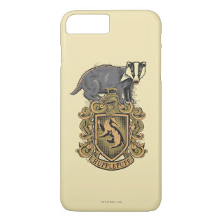Harry Potter | Hufflepuff Crest with Badger iPhone 8 Plus/7 Plus Case