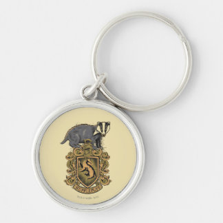 Harry Potter | Hufflepuff Crest with Badger Key Ring