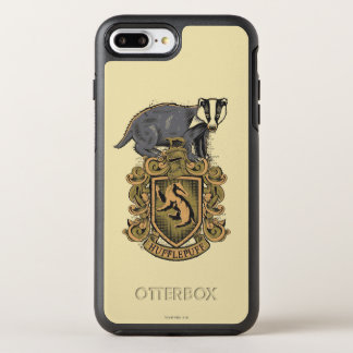 Harry Potter | Hufflepuff Crest with Badger OtterBox Symmetry iPhone 8 Plus/7 Plus Case