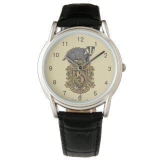 Harry Potter | Hufflepuff Crest with Badger Watches