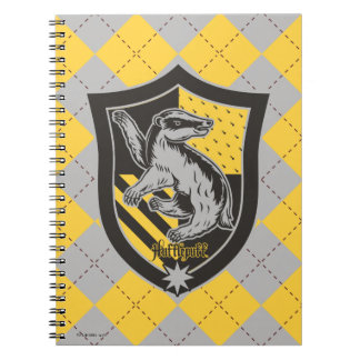 Harry Potter | Hufflepuff House Pride Crest Spiral Notebook