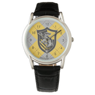 Harry Potter | Hufflepuff House Pride Crest Wristwatches