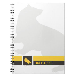Harry Potter | Hufflepuff House Pride Graphic Note Books