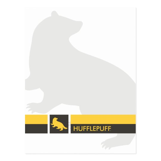 Harry Potter | Hufflepuff House Pride Graphic Postcard