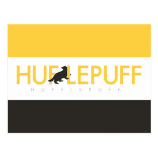 Harry Potter | Hufflepuff House Pride Logo Postcard