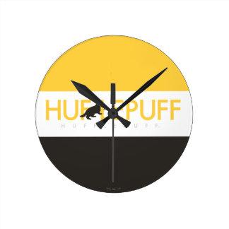 Harry Potter | Hufflepuff House Pride Logo Round Clock