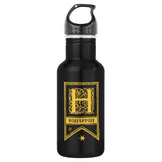 Harry Potter | Hufflepuff Monogram Banner 532 Ml Water Bottle