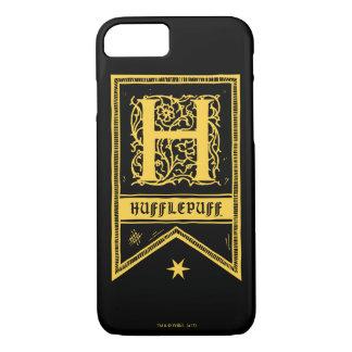 Harry Potter | Hufflepuff Monogram Banner iPhone 8/7 Case