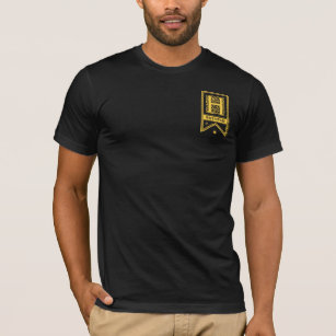 fe6f481a174c Harry Potter | Hufflepuff Monogram Banner T-Shirt