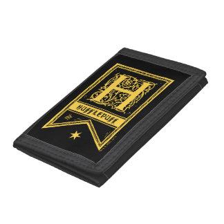 Harry Potter | Hufflepuff Monogram Banner Tri-fold Wallet