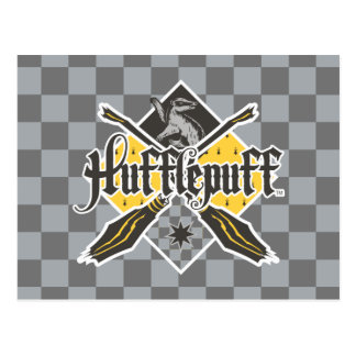 Harry Potter | Hufflepuff Quidditch Crest Postcard