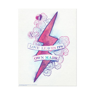 Harry Potter   Love Leaves Its Own Mark Canvas Print