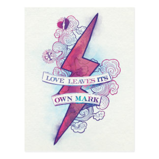 Harry Potter   Love Leaves Its Own Mark Postcard