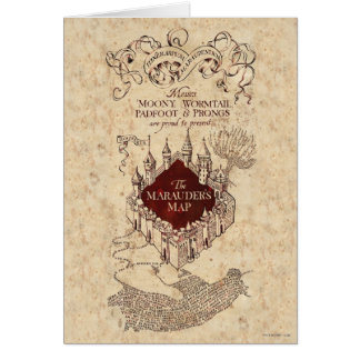 Harry Potter | Marauder's Map Card