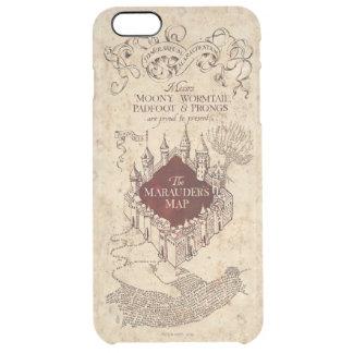 Harry Potter | Marauder's Map Clear iPhone 6 Plus Case