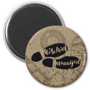 Harry Potter | MISCHIEF MANAGED™ Map Footprints Magnet