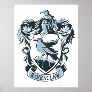 Harry Potter | Modern Ravenclaw Crest Poster