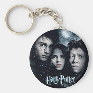 Harry Potter Movie Poster Basic Round Button Key Ring
