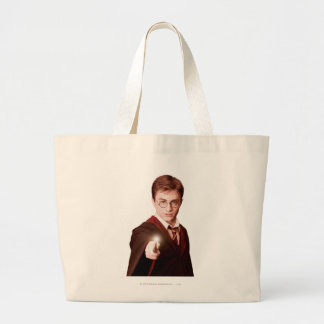 Harry Potter Points Wand Jumbo Tote Bag