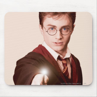 Harry Potter Points Wand Mouse Mat