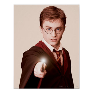 Harry Potter Points Wand Print
