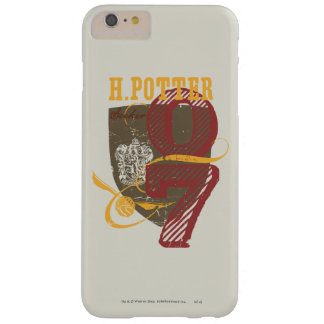 Harry Potter Quidditch Barely There iPhone 6 Plus Case