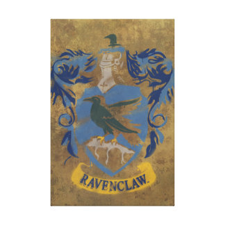 Harry Potter | Ravenclaw Coat of Arms Canvas Print