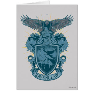 Harry Potter | Ravenclaw Crest Card