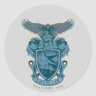 Harry Potter | Ravenclaw Crest Classic Round Sticker