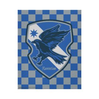 Harry Potter | Ravenclaw House Pride Crest Canvas Print