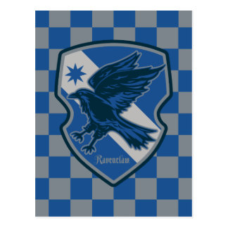 Harry Potter | Ravenclaw House Pride Crest Postcard