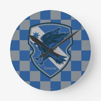 Harry Potter | Ravenclaw House Pride Crest Round Clock