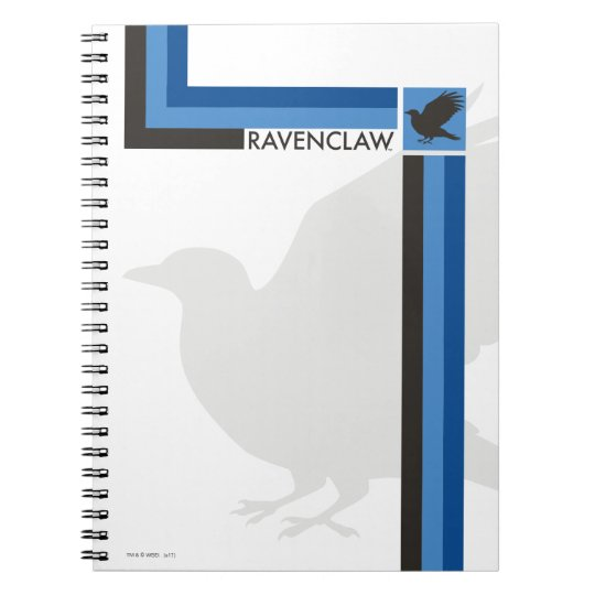 Harry Potter   Ravenclaw House Pride Graphic Notebook