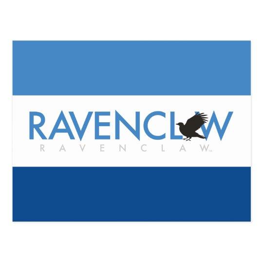 Harry Potter | Ravenclaw House Pride Logo Postcard